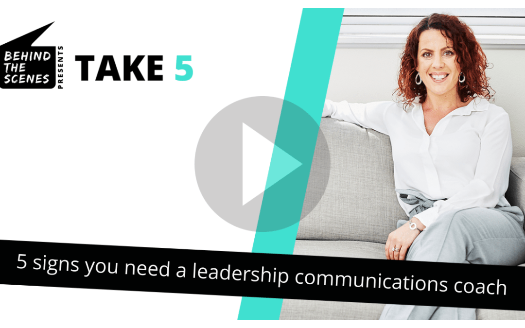 5 signs you need a leadership communication coach