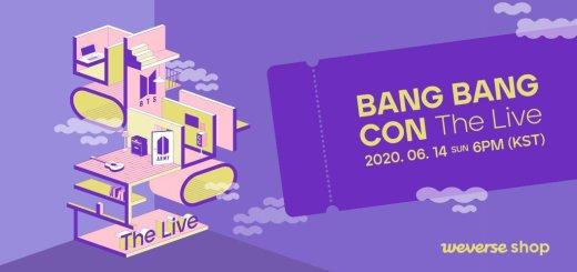 🌟BTSのBANG BANG CON The Live (バンバンコン ザ ライブ)!
