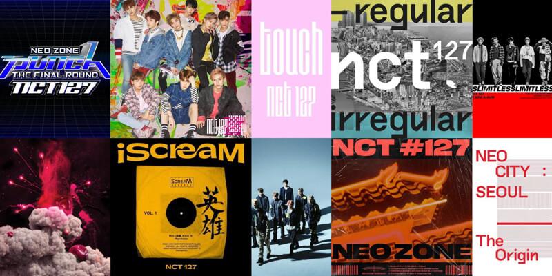 NCT 127(エヌシーティー127)が今までに出したアルバム一覧・曲