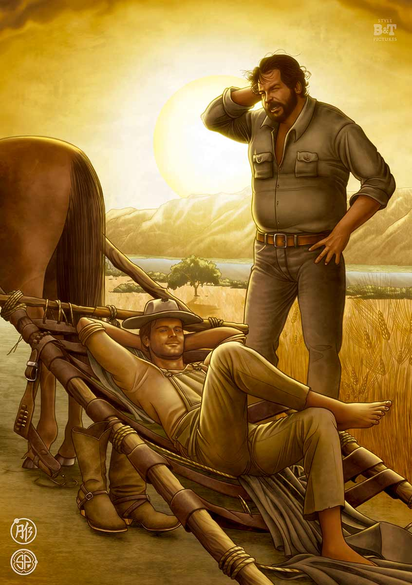 terence hill bud spencer shop poster