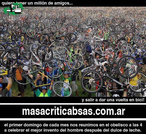 bicicleta Masa Critica Buenos Aires