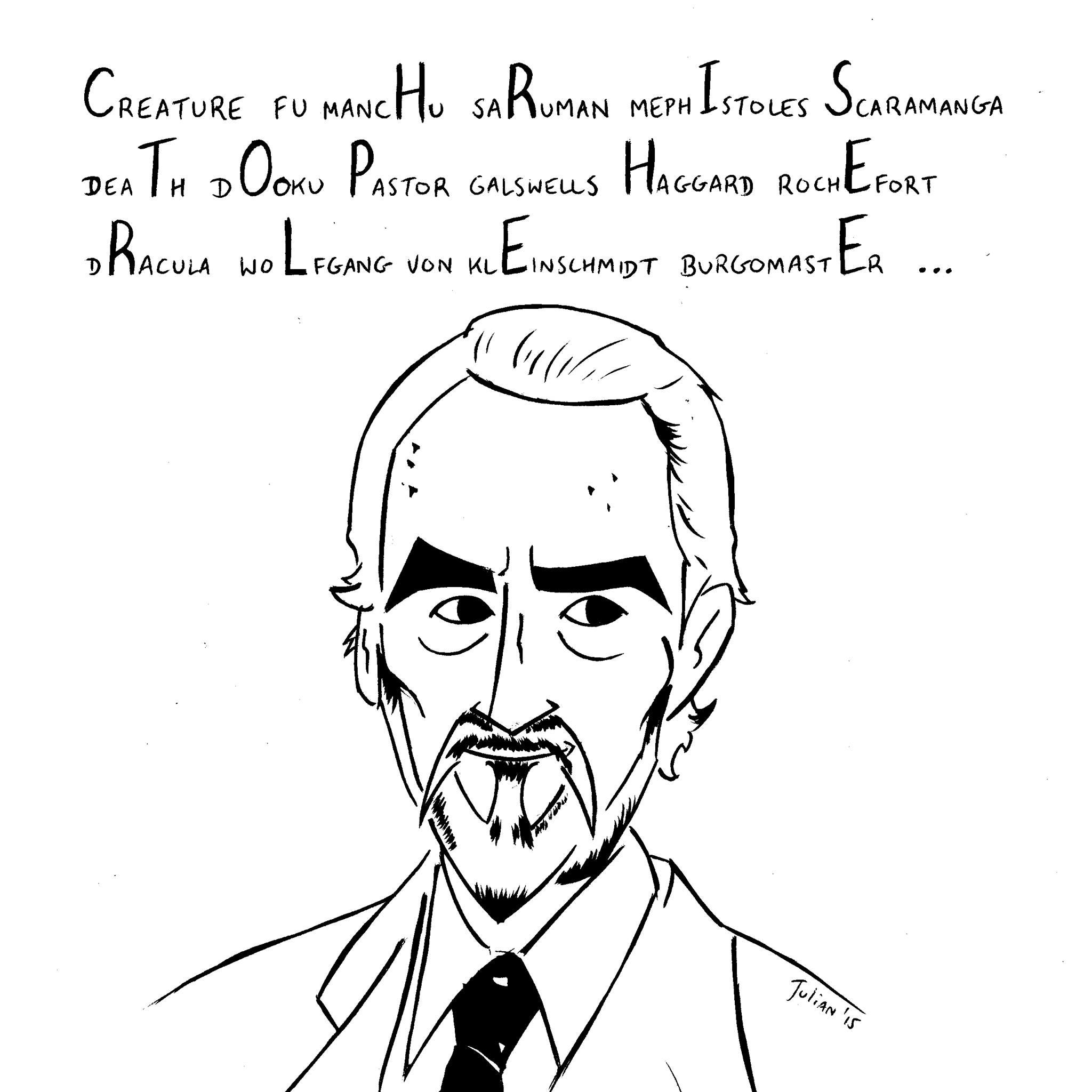 Prince alan rickman david bowie