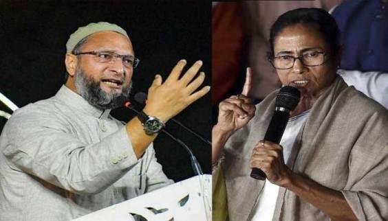 पश्चिम बंगाल CM ममता बनर्जी पर AIMIM चीफ ओवैसी का पलटवार, कह दी ये बड़ी बात | BTV Bharat