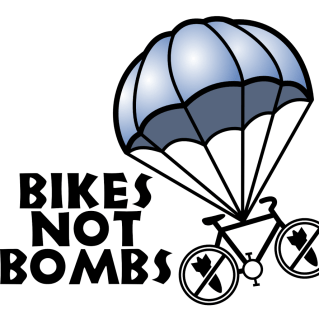 Bikes Not Bombs logo