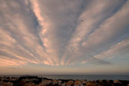 Sonnenaufgang Algarve, Portugal