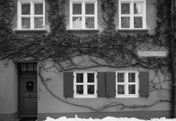 "Fuggerei ""Finstere Gasse"", Augsburg"