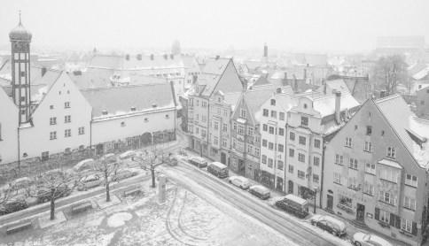Augsburg im Winter