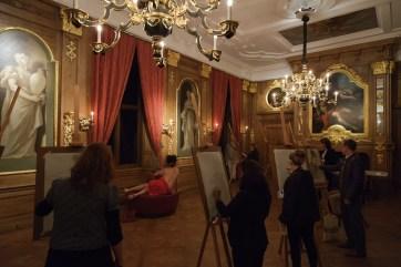 Aktworkshop im Mauritshuis, Den Haag