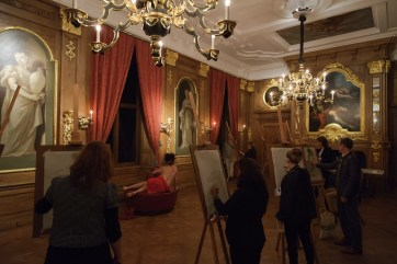 Aktworkshop im Mauritshuis, Den Haag