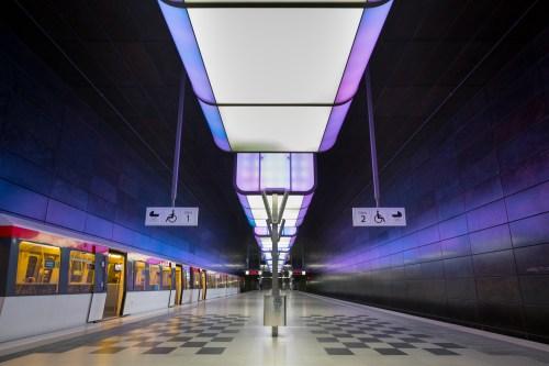 U-Bahn Station Hafencity - Hamburg
