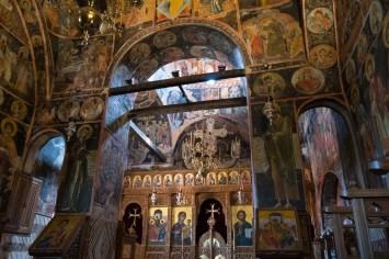 Kloster Agía Triáda - Meteora, Griechenland