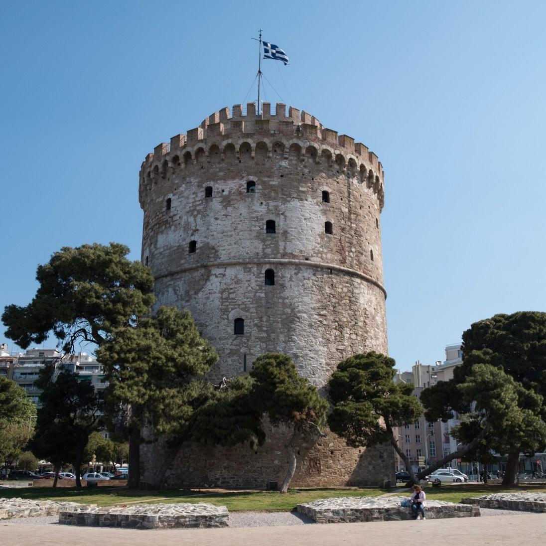 """""""Weisser Turm"""", Thessaloniki"""