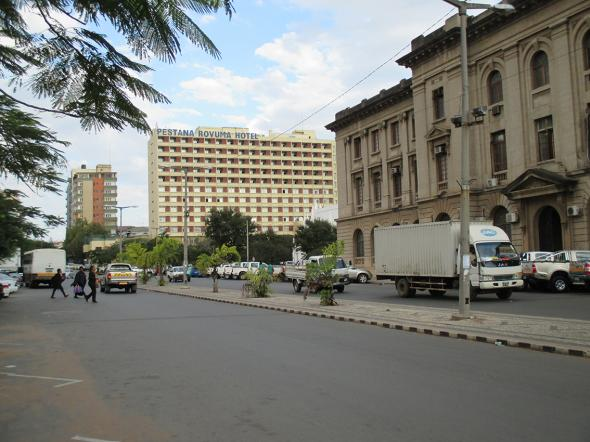 Hotel Pestana Rovuma e Conselho Municipal