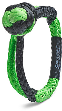 Synthetic Shackle 32,000 lb Breaking Strength, Stronger than Steel!