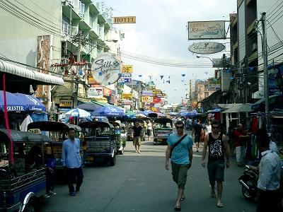 タイ王国カオサンロード