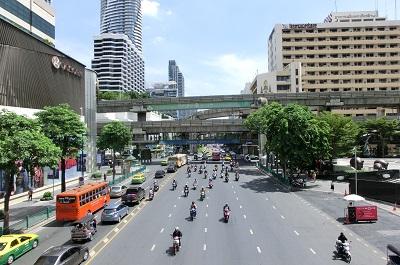 タイ王国バンコクのメインロード5
