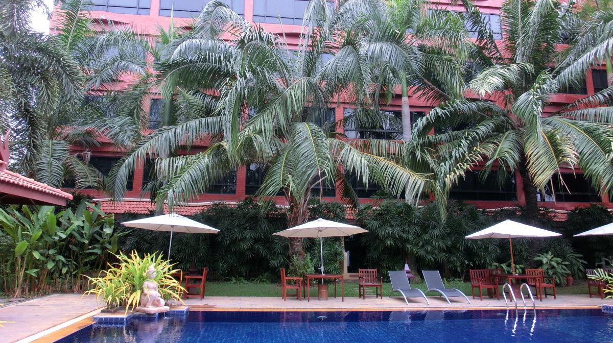 タイ王国パタヤのノヴァパークホテルプール