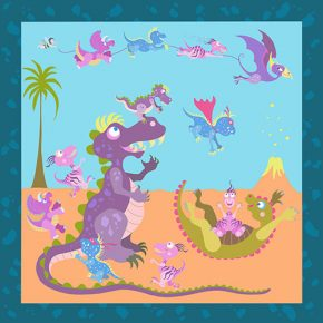 Dinosaur Dilemma Soft Mat