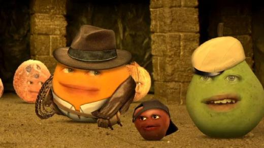 review annoying orange �lost food pyramid� bubbleblabber