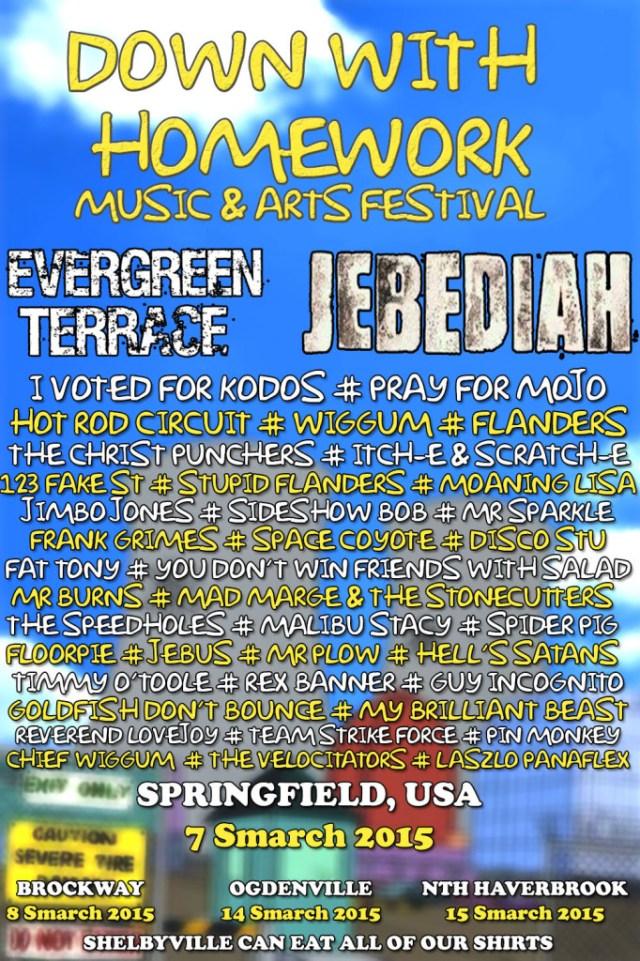 Simpsons Music Festival