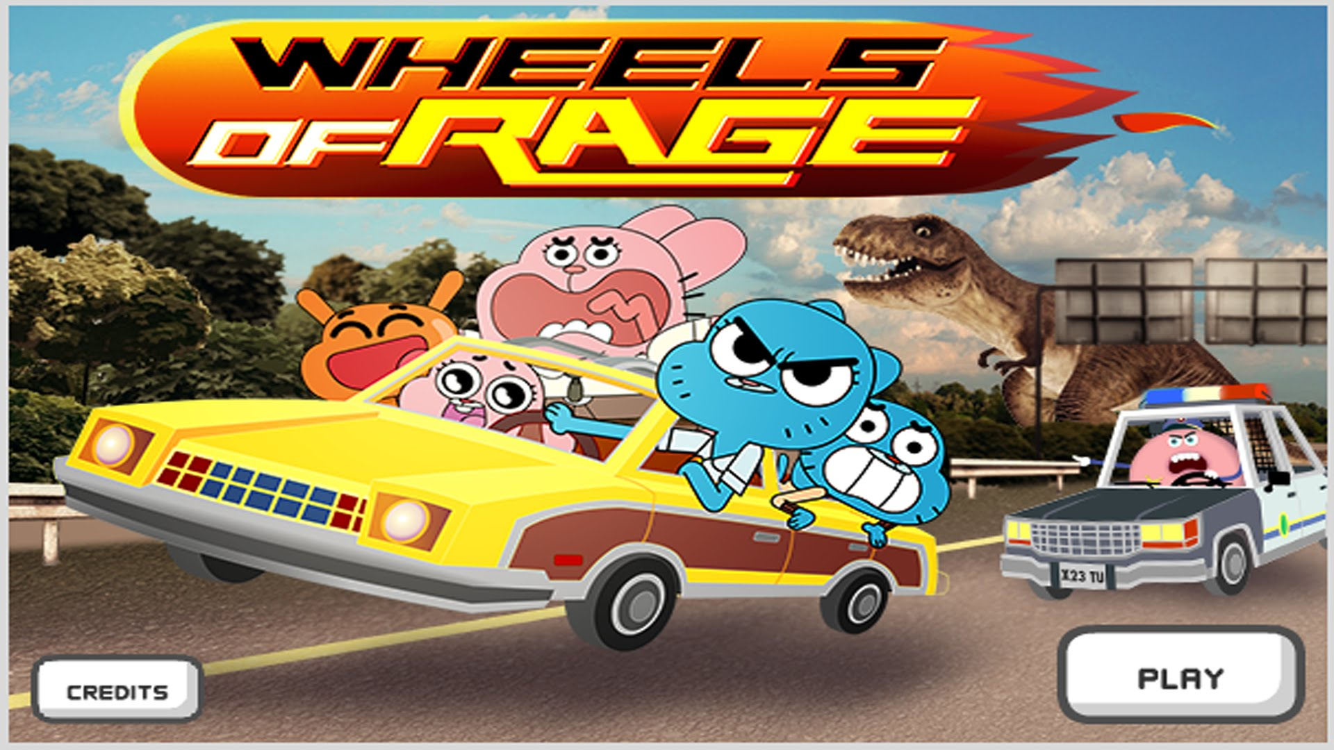 Cartoon Network Car Games Play