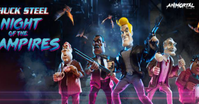 Chuck Steel: Night of the Trampires Posts First New Clip In A Year
