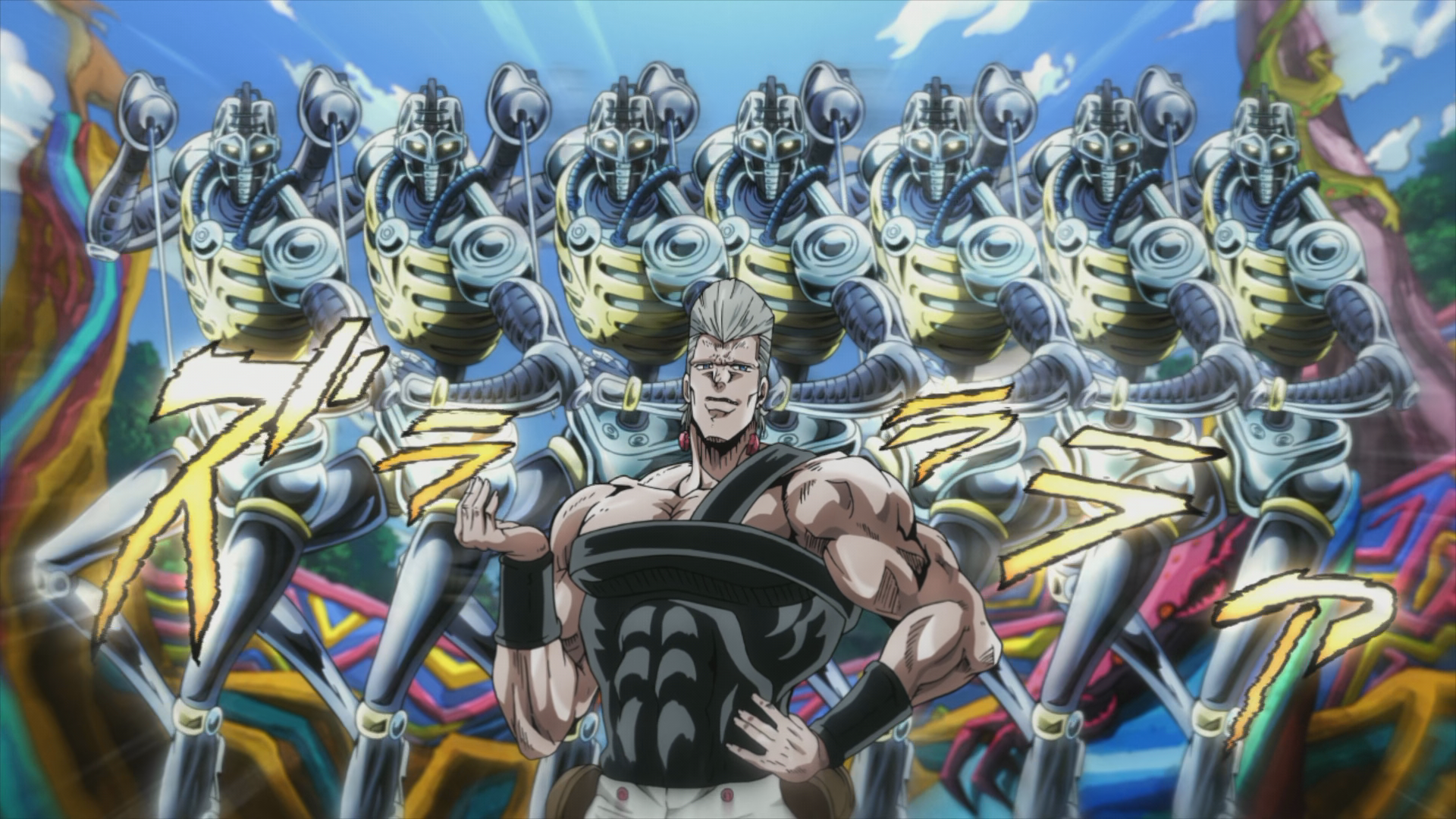 "English Dub Review: Jojo's Bizarre Adventure: Stardust Crusaders ""Silver Chariot"" 
