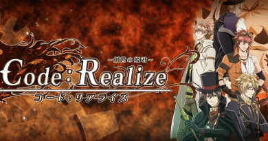 "English Dub Review: Code:Realize ""The Flames of War"""