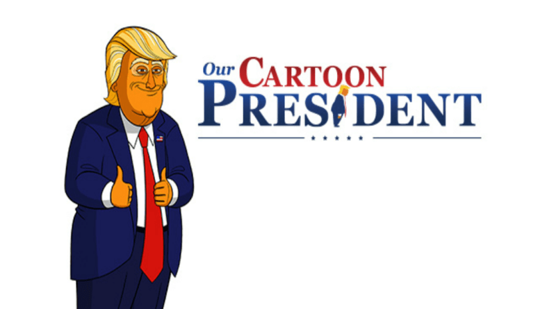 review our cartoon president quotrolling back obama