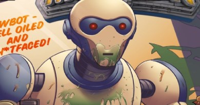 COMICS REVIEW: SUPERMANSION #1