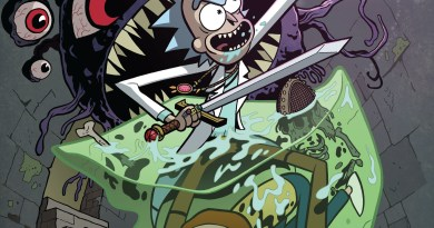Comic Review: Rick and Morty vs Dungeons and Dragons #1