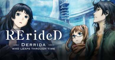 """English Dub Review: RErideD: Derrida, Who Leaps Through Time """"The Time Leaper"""""""