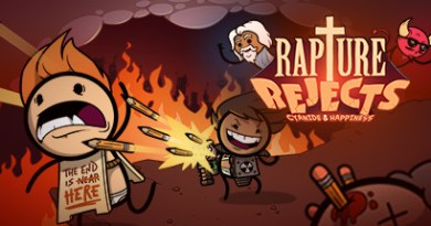 "Cyanide & Happiness Drop New Battle Royale Game ""Rapture Rejects"""