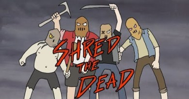"""Shred the Dead"" Is A New Animated Video From Ghoul"