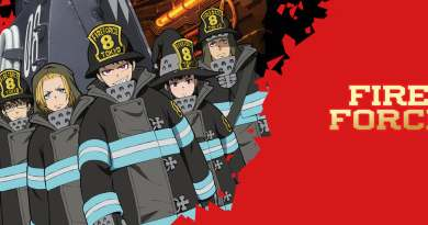 "English Dub Review: Fire Force ""The Investigation of the 1st Commences"""