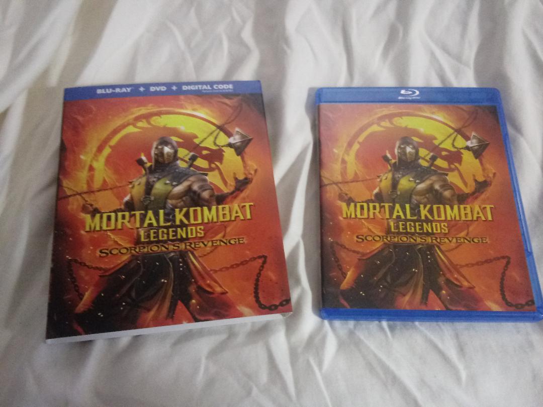 Blu Ray Review Mortal Kombat Legends Scorpion S Revenge