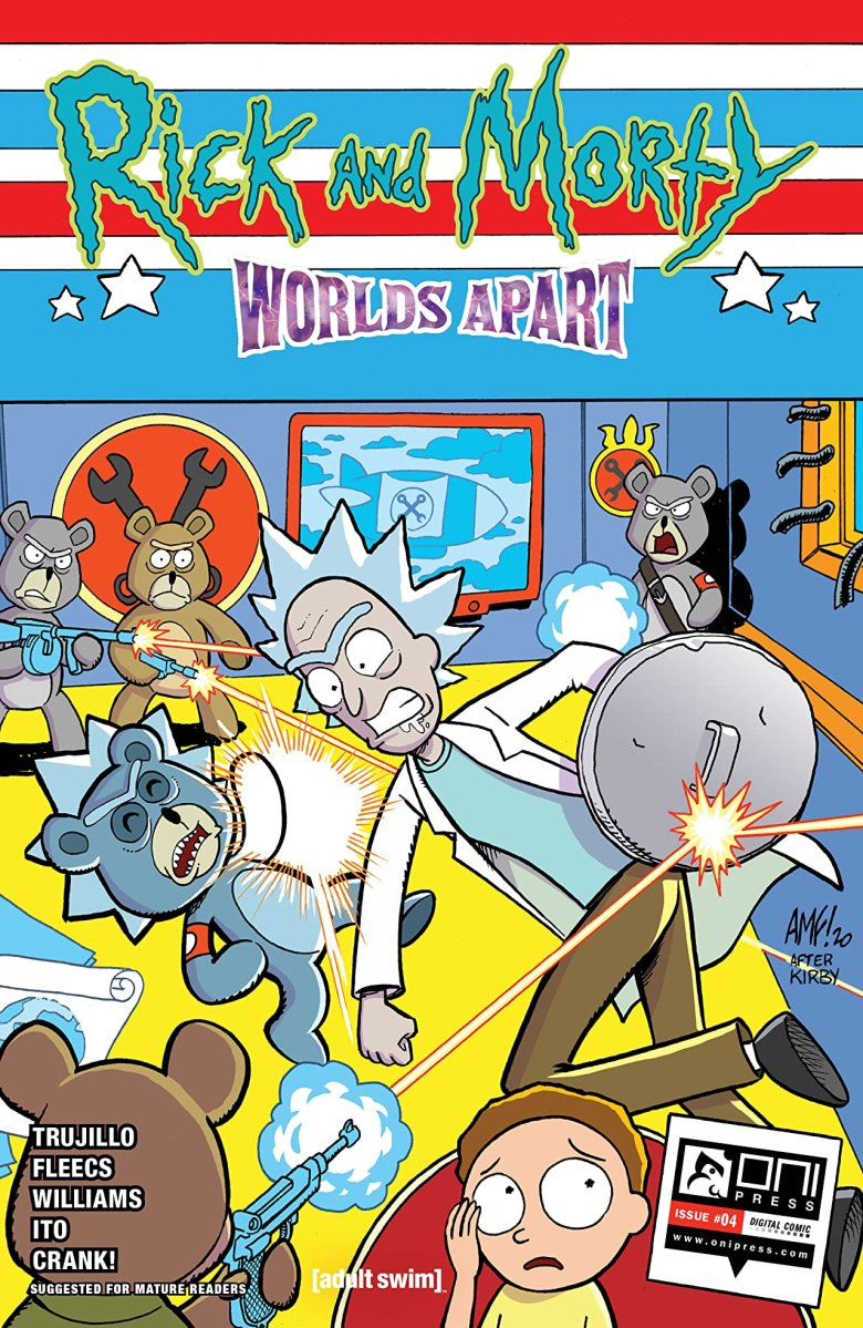 Comic Review: Rick and Morty: Worlds Apart #4