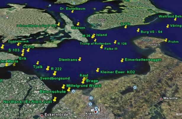 Wrack Ostsee
