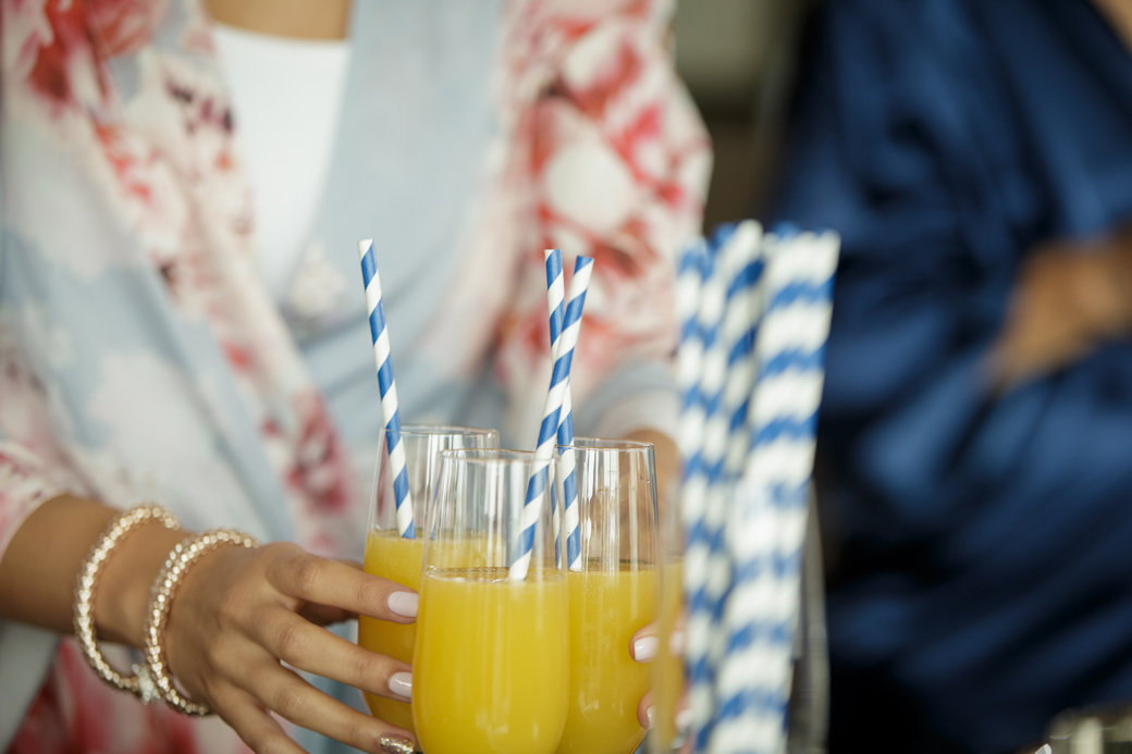 Bridesmaids   Mimosas   Getting Ready   Chicago Wedding   Cafe Brauer Wedding   Bubbly Moments