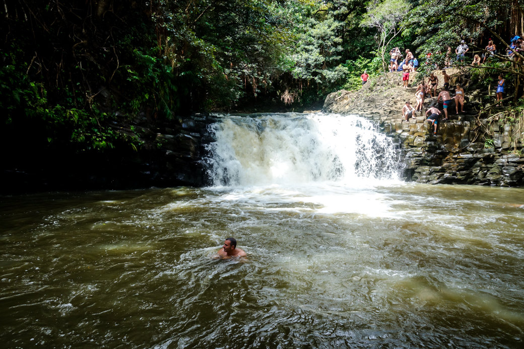 Twin Falls | Driving the Road to Hana | Maui | Hawaii | Bubbly Moments