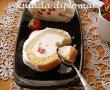 retete culinare - Rulada diplomat cu capsuni 444752