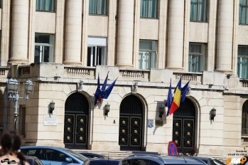The balcony Ceaușescu had the last speech