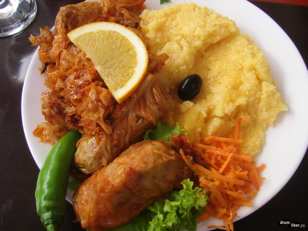 Food in Romania, food in Bucharest: Sarmale (sărmăluțe)