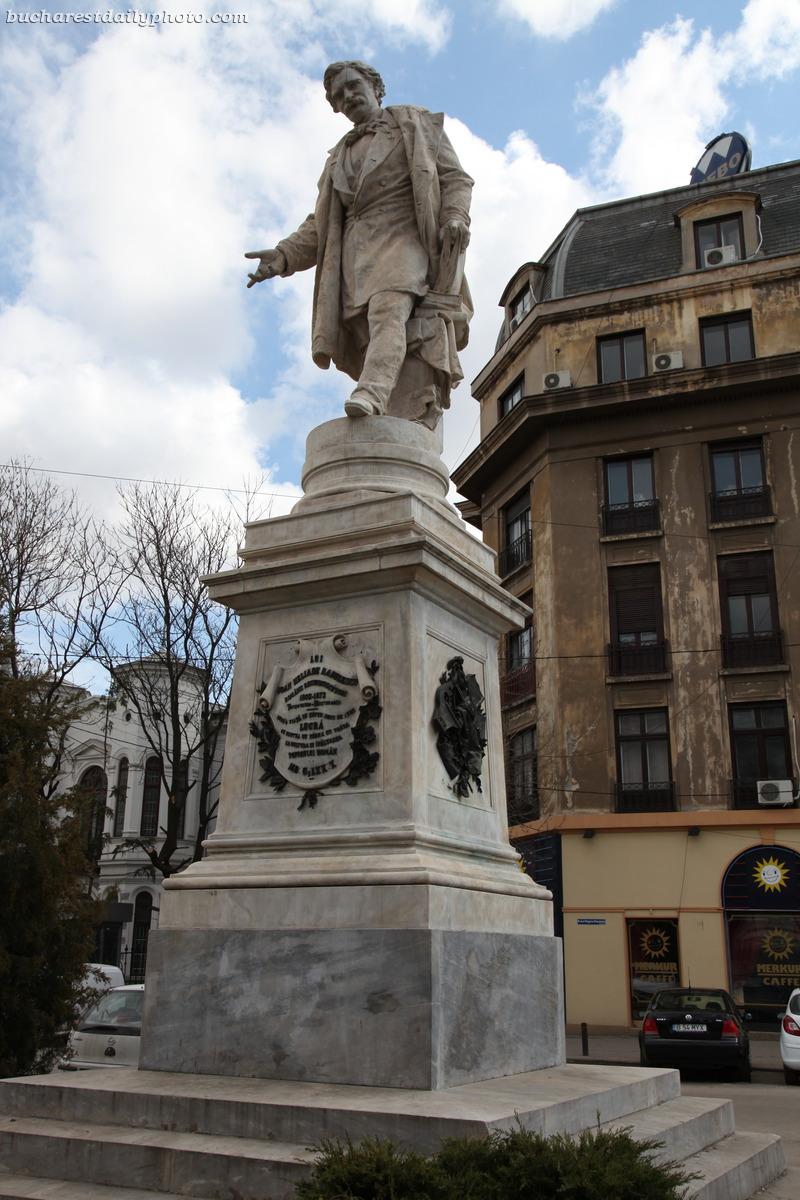 Statue Bucharest Daily Photo