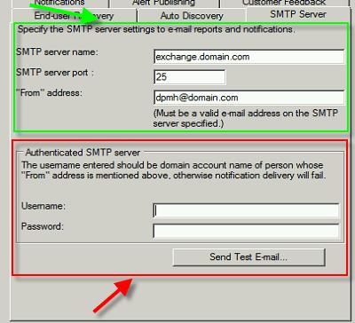 Anonymous SMTP for DPM | Buchatech com