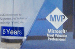 5th Year Microsoft MVP Chip