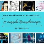 20 magische Oktober-Neuerscheinungen