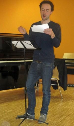 Unser früherer Dirigent Ole in Aktion