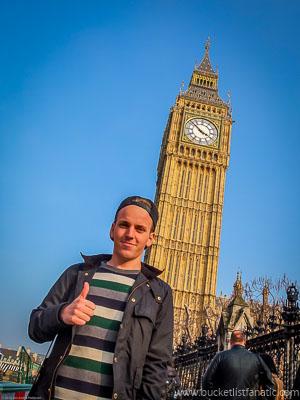 Big Ben, UK - Bucket List