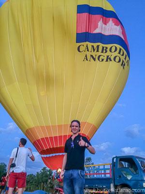 Hot Air Balloon Ride, Bucket List